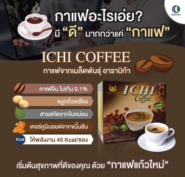 อิชิคอฟฟี่ Ichi Coffee กาแฟ